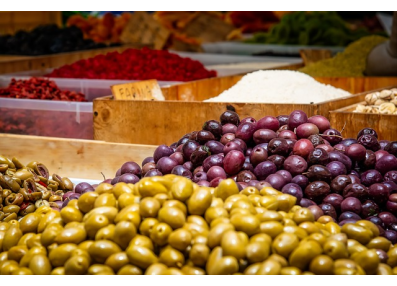 Olivy černé/zelené krájené